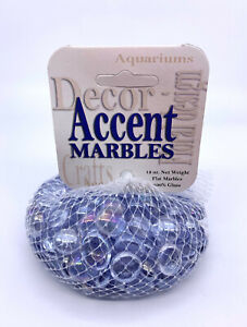 "Mega Marbles 1/2"" Round Diamond Crystal Lilac Mosaic Glass Gems 12oz Net Bag"