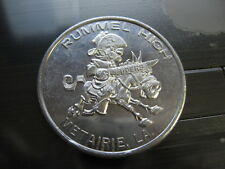 rummel raiders festival high school 1968 Doubloon mardi gras rare new orleans