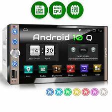 Autoradio mit Android 10 2gb 32gb Navi GPS Bluetooth Wifi 3g 4g Dab Obd2 2DIN