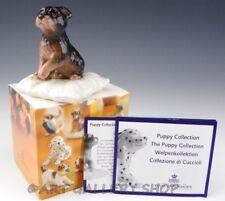 Royal Copenhagen Mini Puppy Figurine #749 Jack Russell Fox Terrier Dog Box Coa