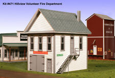 American Model Builders O Scale Hillview Vol Fire Cov Kit #471 Bob The Train Guy