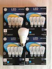 Sweet 16 PACK GE LED 60W = 9W Soft White 60 Watt Equivalent A19 2700K light bulb