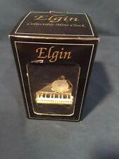 Elgin mini piano clock