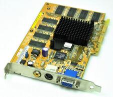 Asus V7100PRO/64M V7100PRO 64MB Grafikkarte Grafik AGP Composite TV-Out VGA