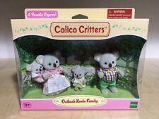 Calico Critters OUTBACK KOALA Family Set New