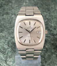 Stunning Vintage 1973 OMEGA Geneve TV Dial Automatic Watch Cal 1012 Full Working