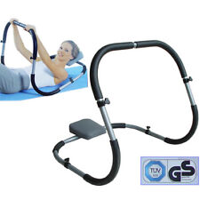 New AB Roller Crunch Fitness Abdominal Exercise Machine With Head Rest