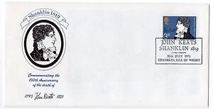 GB 1971 3p John Keates official FDC IOW Shanklin handstamp. VGC First day cover