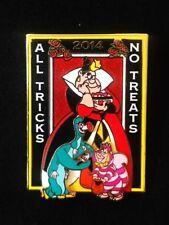Disney Alice in Wondwrland All Tricks No Treats King Queen of Hearts Pin
