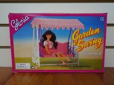 Gloria Doll House Furniture Garden Swing Set Fits Barbie