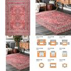 Daenerys Persian Red 8 Ft. X 10 Ft. Area Rug