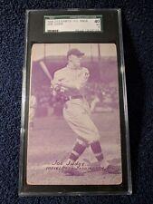 Joe Judge 1926-29 PC Back Exhibits **SGC 40 VG 3** Washington HIGH GRADE NICE!