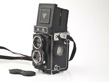 Seagull 4A - 6x6cm TLR -  3.5/75mm Lens - fully working - tested - exc++