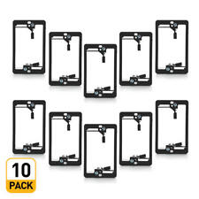 PrimeCables® 10PK 1-Gang Low Voltage Mounting Bracket