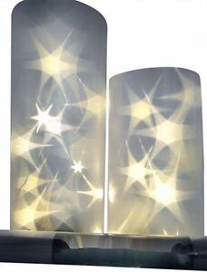 3D Hologramm Folie Sterneffekt Lichteffekt-Folien Led Lichterkette Batterie 1-3m