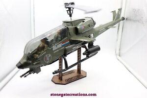 ARAH 1983 GI Joe Dragonfly helicopter missile rocket vintage part Hasbro G.I