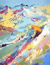 "LeRoy Neiman     ""Alpine Skiing""           Serigraph on Paper"