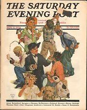 NOV 17 1928 SATURDAY EVENING POST magazine - BLACK AMERICANA - DOG