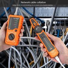 NEW Meterk RJ11 RJ45 Wire Tracker Cable Tester Handheld Network Line Finder L3O9