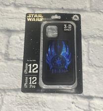 New Disney Parks Star Wars 3-D Effect Jedi D-Tech iPhone 12 Pro Phone Case