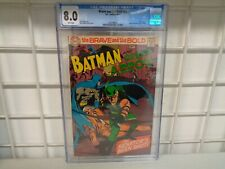 DC COMICS THE BRAVE AND THE BOLD BATMAN AND GREEN ARROW CGC 8.0 COMIC BOOK