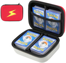 More details for cpano travel carrying card case compatible with pokemon trading cards