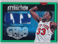 14-15 Panini Gala Patrick Ewing Main Attraction Jumbo Patch 21/25 KNICKS