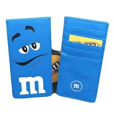 M&M's World Card Holder Blue Character New with Tags