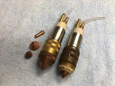 TWO ESAB PT-19XLS Plasma Torch Cutting Heads