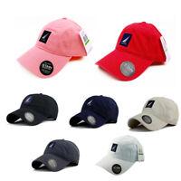 Hot Nautica Hat 100% Cotton Leisure Sport Baseball Cap Adjustable Men's Unisex