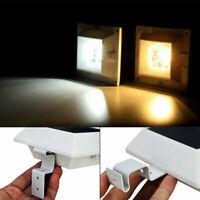 6 LED Lampe Jardin Solaire Extérieur Lumière éclairage Escalier Plein air FR