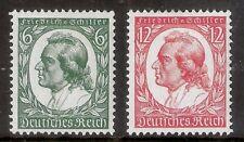Deutsches Reich Mi nr.554/555  Ongebruikt