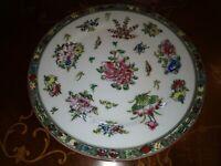 piatto in ceramica orientale arredo casa  vintage collezionismo