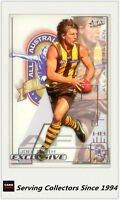 2002 Select AFL Exclusive All Australia Team AA6 Joel Smith (Hawks)