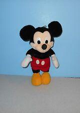 "Walt Disney Co. 14"" Mickey Mouse Plush By Playskool #70130 Classic Red Pants"