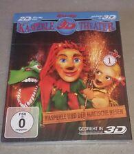 Kasperle 1 Theater Kasperle und der magische Besen 3D + 2D Blu-ray NEU & OVP