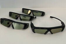 LOT: Set of 4 Samsung SSG-3100GB Active 3D Glasses For Smart TV