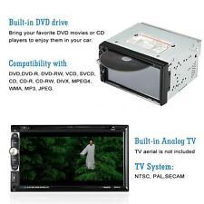 "7"" 2 Din HD 1080P In-Dash FM Aux Input Car Stereo DVD Player Bluetooth PV57"
