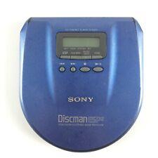 Sony D-E555 Bleu Walkman CD Baladeur Lecteur Portable Disque Discman Player