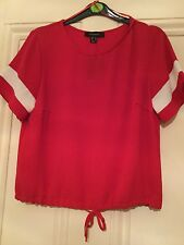 Atmosphere, A Lovely New with tags Ladies Red Top, sise 12