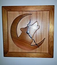 Wooden clock, Wall Clock, Made with Washington Red Cedar.