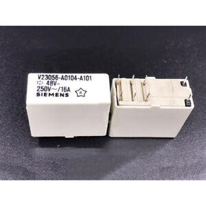 SIEMENS V23056-A0104-A101 Power Relay 48VDC 8Pin 16A