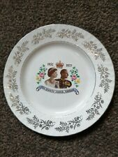 Queens jubilee plate 1977 Barratts of Staffordshire