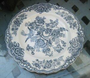 Crown Ducal Bristol dove grey Kuchenteller Ø 20 cm England