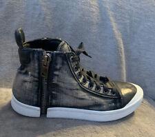 Mens Diesel Black Denim Shoe Boots - Size 9.5 (43)