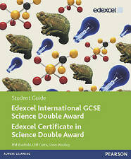Edexcel International GCSE Science Double Award Student Guide by Philip...