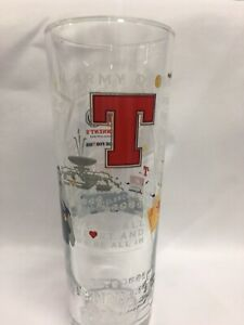 Tennents lager Football 2021 limited edition pint glass.
