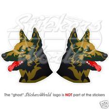 SCHÄFERHUND Canine Wachhund GERMAN Shepard Vinyl Sticker Aufkleber 120mm
