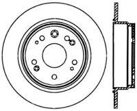 Disc Brake Rotor-GCX Brake Rotors by StopTech Rear Centric fits 02-04 Honda CR-V
