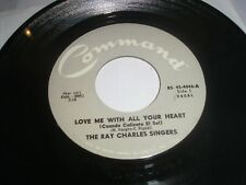 SOUL-RAY CHARLES SINGERS LOVE ME WITH ALL YOUR HEART/SWEET LITTLE MOUNTAIN BIRD